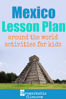 Building the perfect Mexico lesson plan for your students? Are you doing an around-the-world unit in your K-12 social studies classroom? Try these free and fun Mexico activities, crafts, books, and free printables for teachers and educators! #Mexico #spanish #lessonplan
