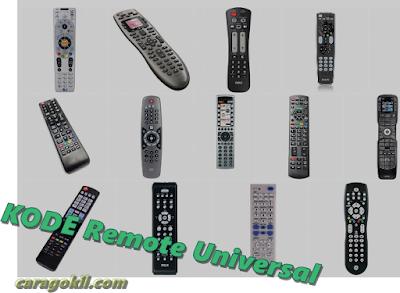 Kode Remot Tv Universal Semua Merk Lengkap Dan Cara Setting