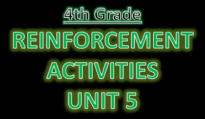 Reinforcement Exercises Unit 5