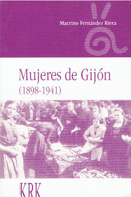 Imagen de la portada del libro Mujeres de Gijón (1898-1941)