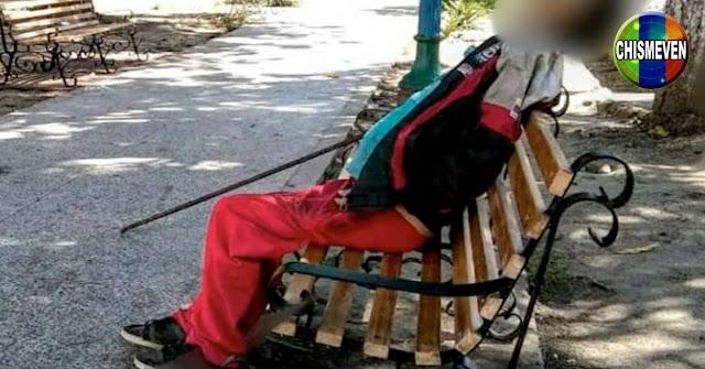 Murió de hambre en una plaza de Valera frente a un centro electoral