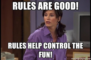 Dont be Control Freak Like Monica Friends Sitcom