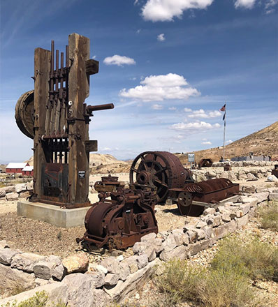 More abandoned mine equipment at the Mining Museum in Tonapah, NV (Source: Palmia Observatory)