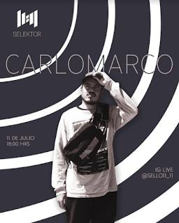 El sello nacional 11:11 presenta el ciclo Selektor con Carlomarco