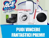 """Concorso ACE """"L'Igiene ogni giorno"""" : vinci elettrodomestici a tua scelta (Aspirapolvere, Robot, Lavasciuga, Purificatore d'aria)"""