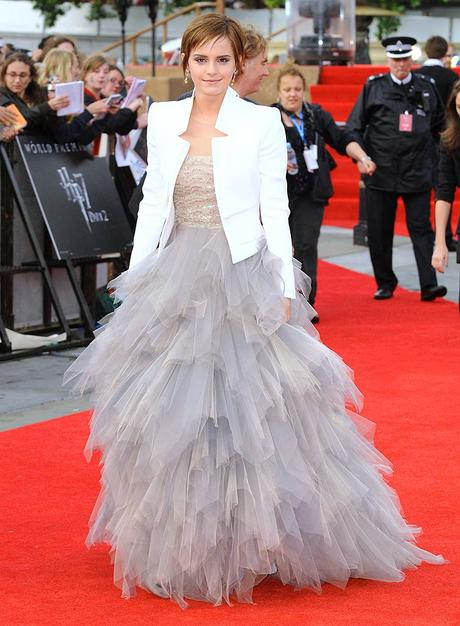 Emma Watson Wore To The London Premiere Of Final Installment Last Harry Potter Movie