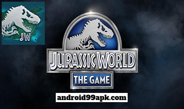 لعبة Jurassic World: The Game v1.45.1 مهكرة كاملة (بحجم 27 MB) للأندرويد
