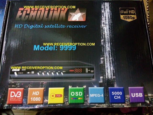 ECHOLINK MODEL 9999 HD RECEIVER AUTO ROLL POWERVU KEY NEW SOFTWARE