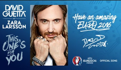 Lagu Euro Prancis 2016 David Guetta This One's For You Mp3