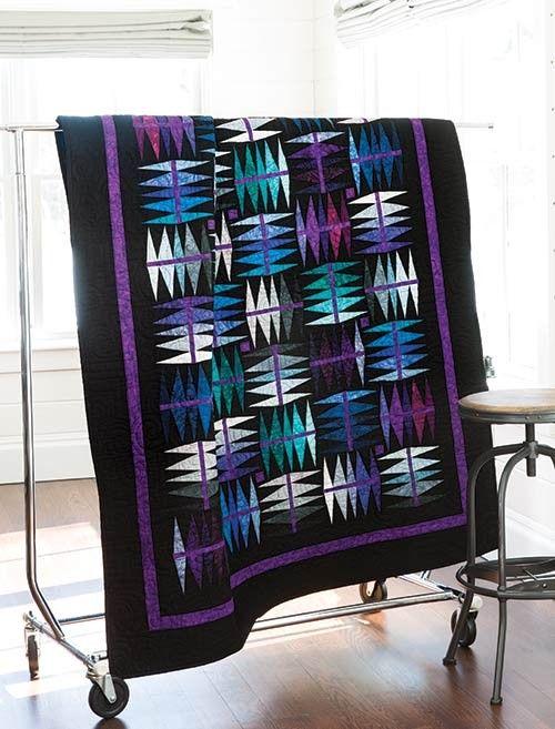 Palette Pizazz Quilt Free Pattern Designed by former staffer Barbara Hollinger