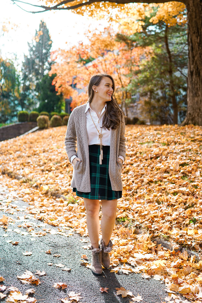 Krista Robertson, Covering the Bases, Travel Blog, NYC Blog, Preppy Blog, Style, Fashion Blog, Travel, Fashion, Preppy Blogger, Preppy Outfits, Fall Style, What to wear to work, Work outfits, What to Wear in the Fall, Fall Fashion, Plaid Skirt