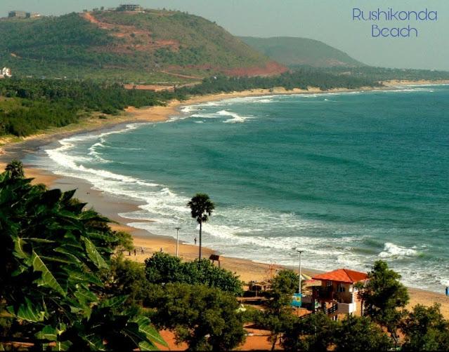 Rushkonda beach Andhra pradesh