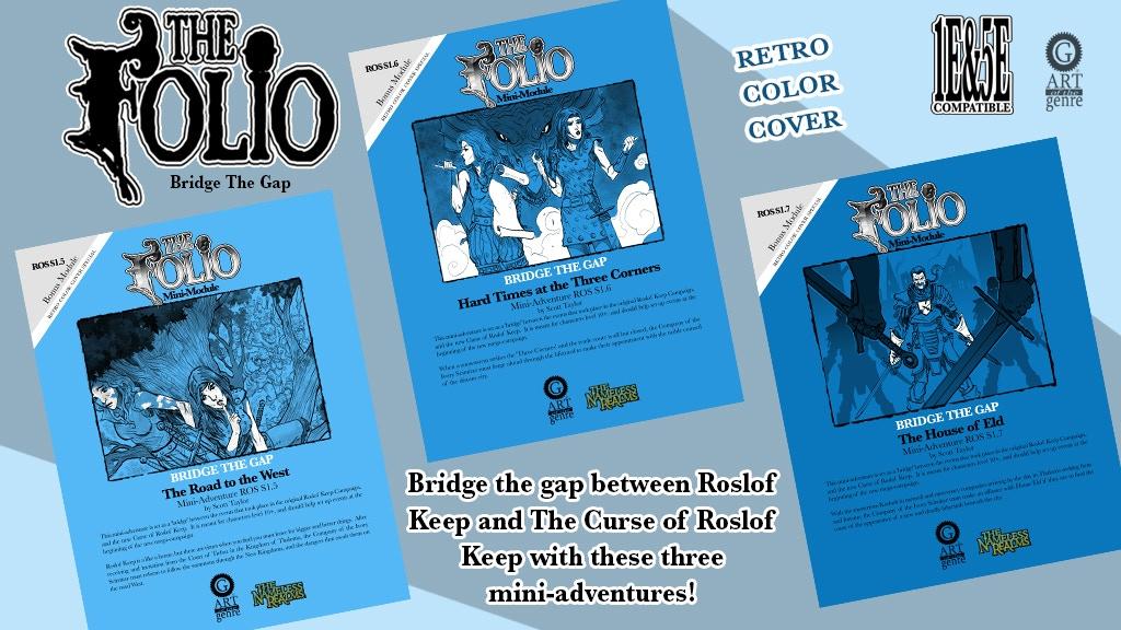 Tenkars tavern 2018 the retro 1e 5e fantasy mini adventure set kickstarter is a triple mini adventure bridge from roslof keep to the curse of roslof campaigns in both 1e fandeluxe Gallery