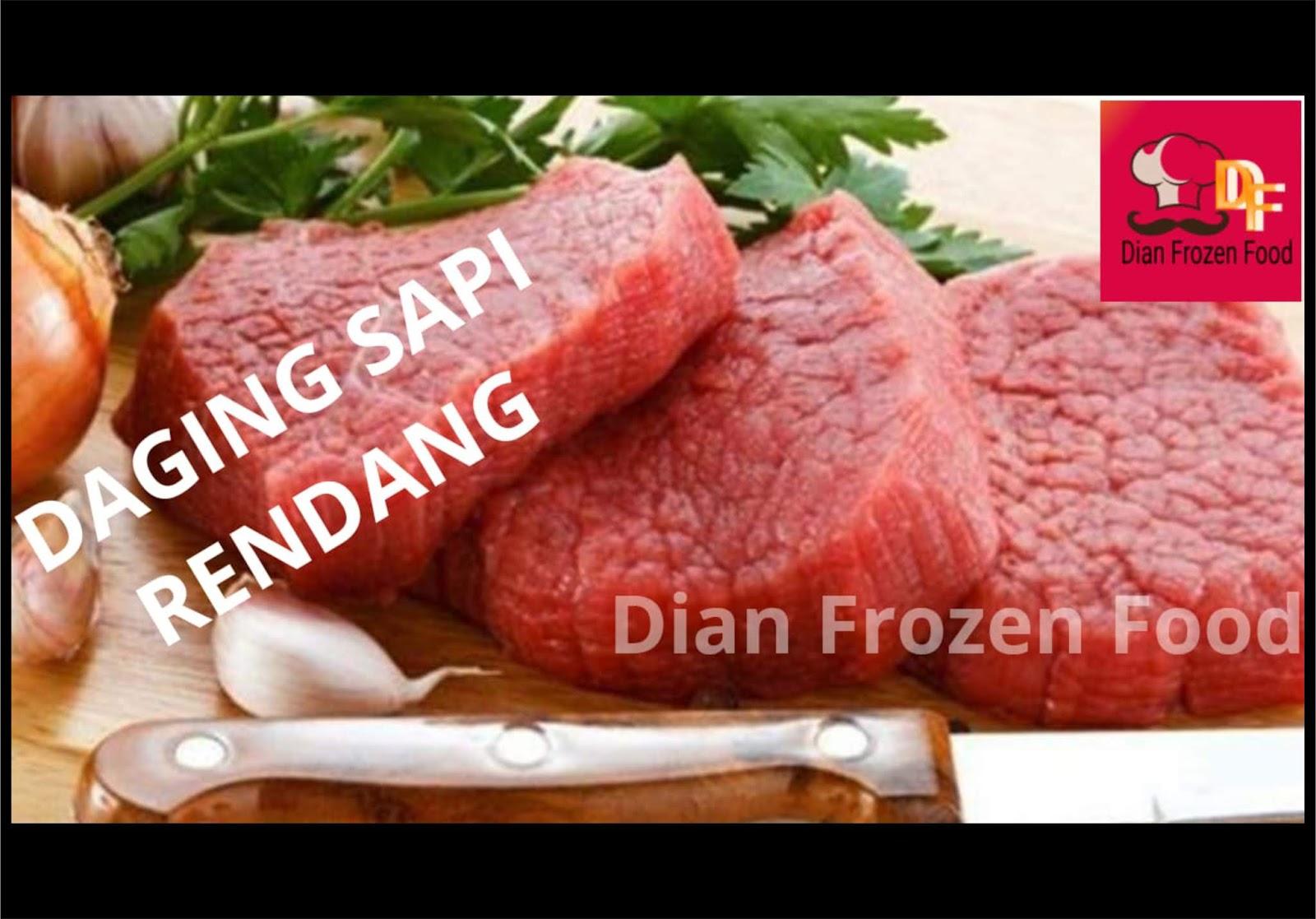 Daging Sapi Rendang Rp. 35.000/250gr/pack