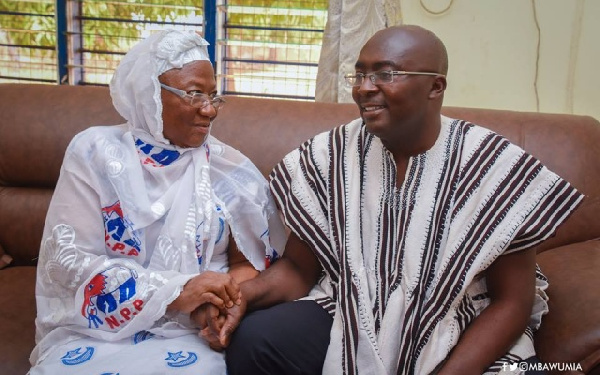 Vice President, Dr. Bawumia loses mother