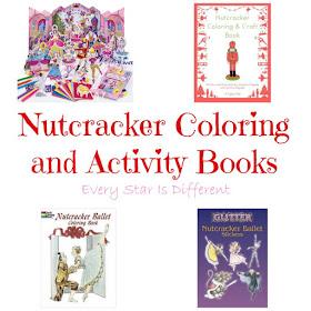 Nutcracker coloring books