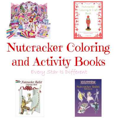 Nutcracker coloring books