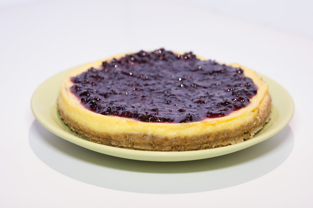 cheesecake-de-jengibre, ginger-cheesecake-and-blackberry-jam