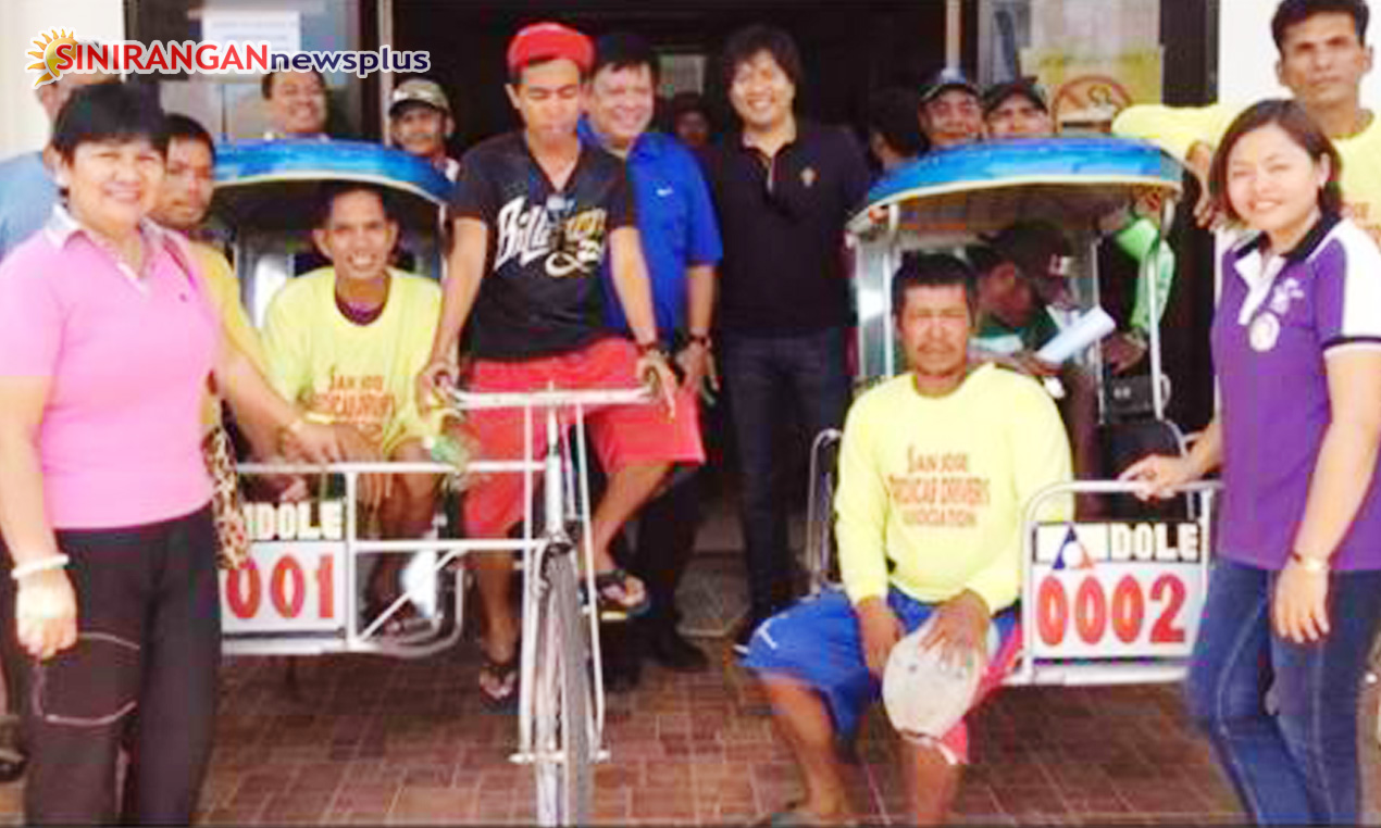 DOLE hands over 40 pedicabs to Northern Samar town 'sikad' drivers