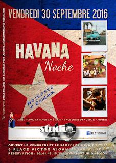 Angers : soirée Havana