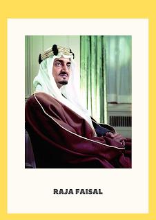 King Faisal from Saudi Arabia