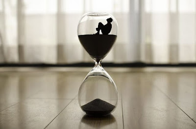 Steps can not be made by sitting on the sands of time.