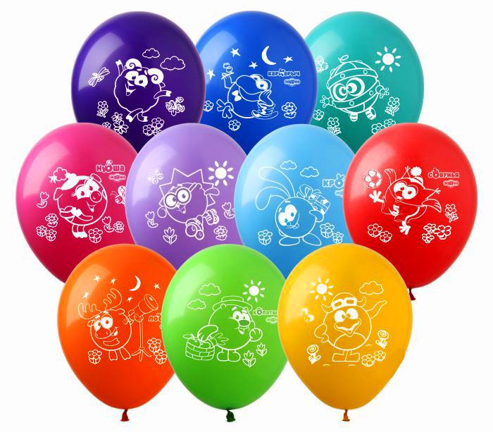 Воздушные шарики Смешарики