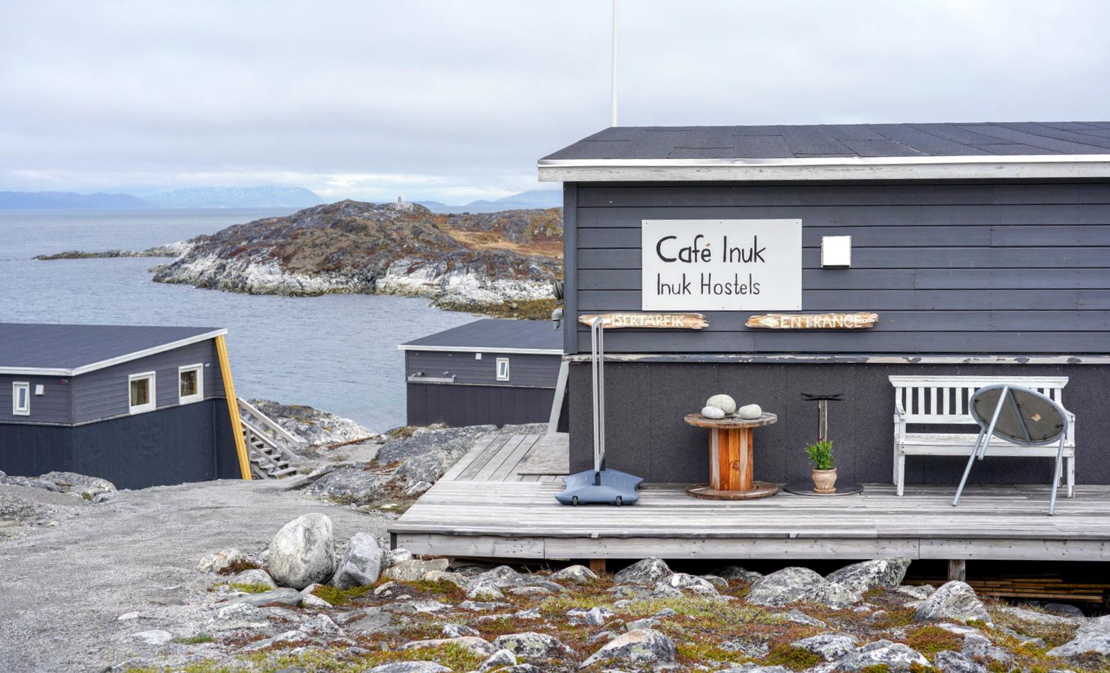 Cafe Inuk, Greenland