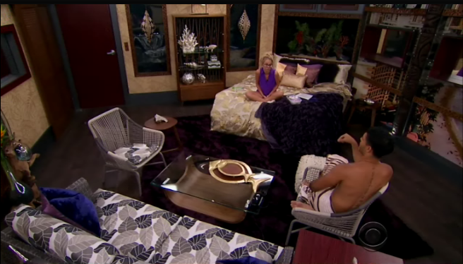 Big brother gossip big brother season 18 episode 3 recap for Brother v brother living room