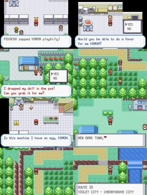 Pokemon Heros Path