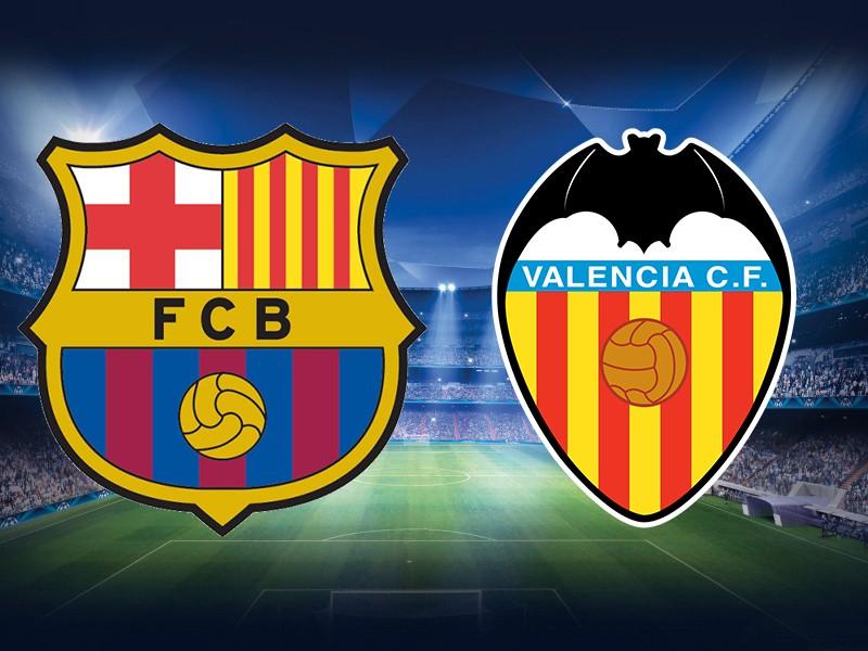 موعد مباراة برشلونة ضد فالنسيا والقنوات الناقلة في قمة الجولة 14 من الدوري الإسباني