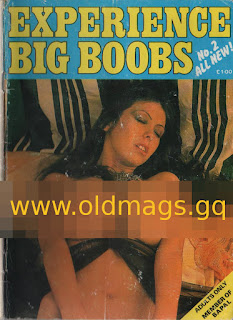 Cover of old magazine experience big boobs no 2