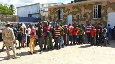 Resultado de imagen para Cesfront apresa haitianos ilegales