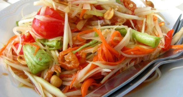 Resep Membuat Salad Pepaya (Papaya Salad)
