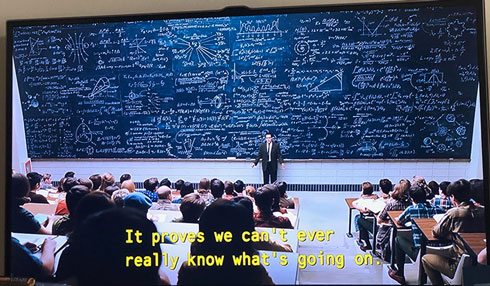 """Screenshot from the black comedy (Source: """"A Serious Man"""", 2009)"""
