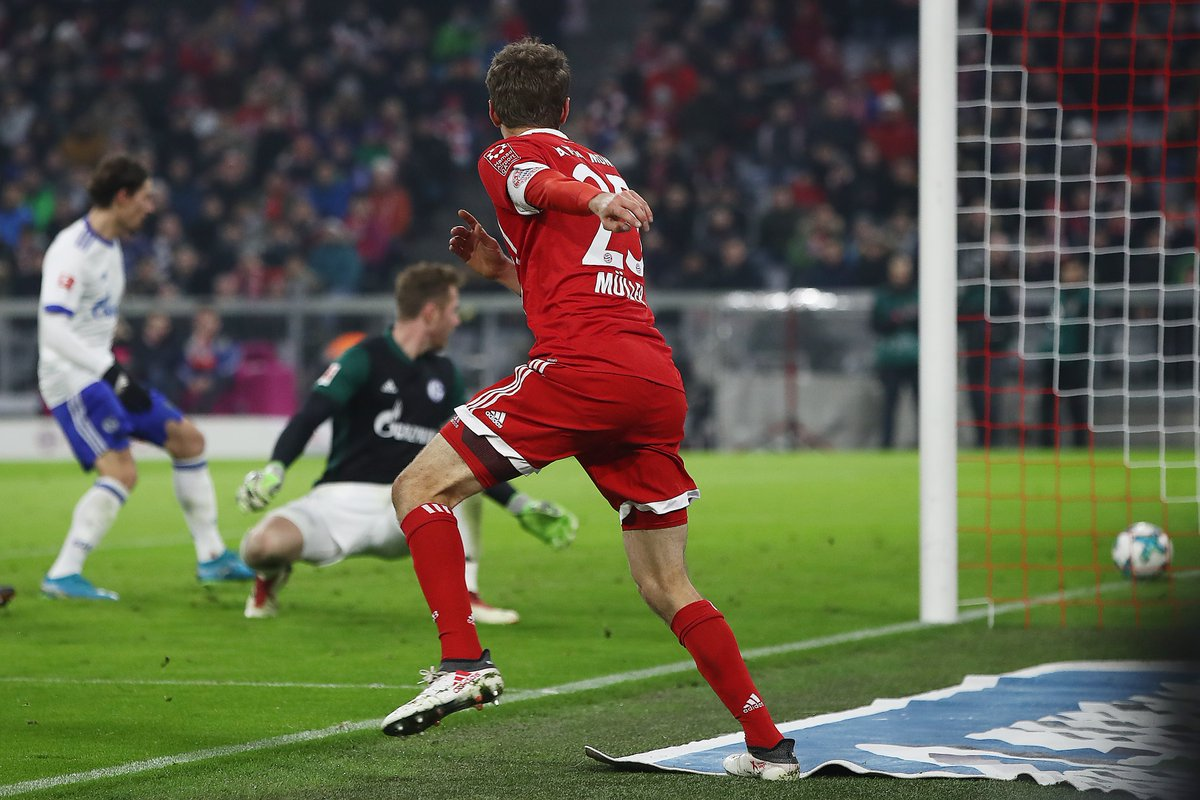 نتيجة مباراة بايرن ميونخ وشالكه بتاريخ 25-01-2020 الدوري الالماني