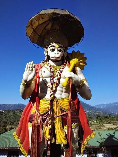 hanuman temple naukuchiatal