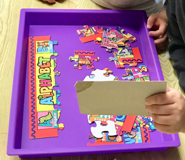 trays for puzzles