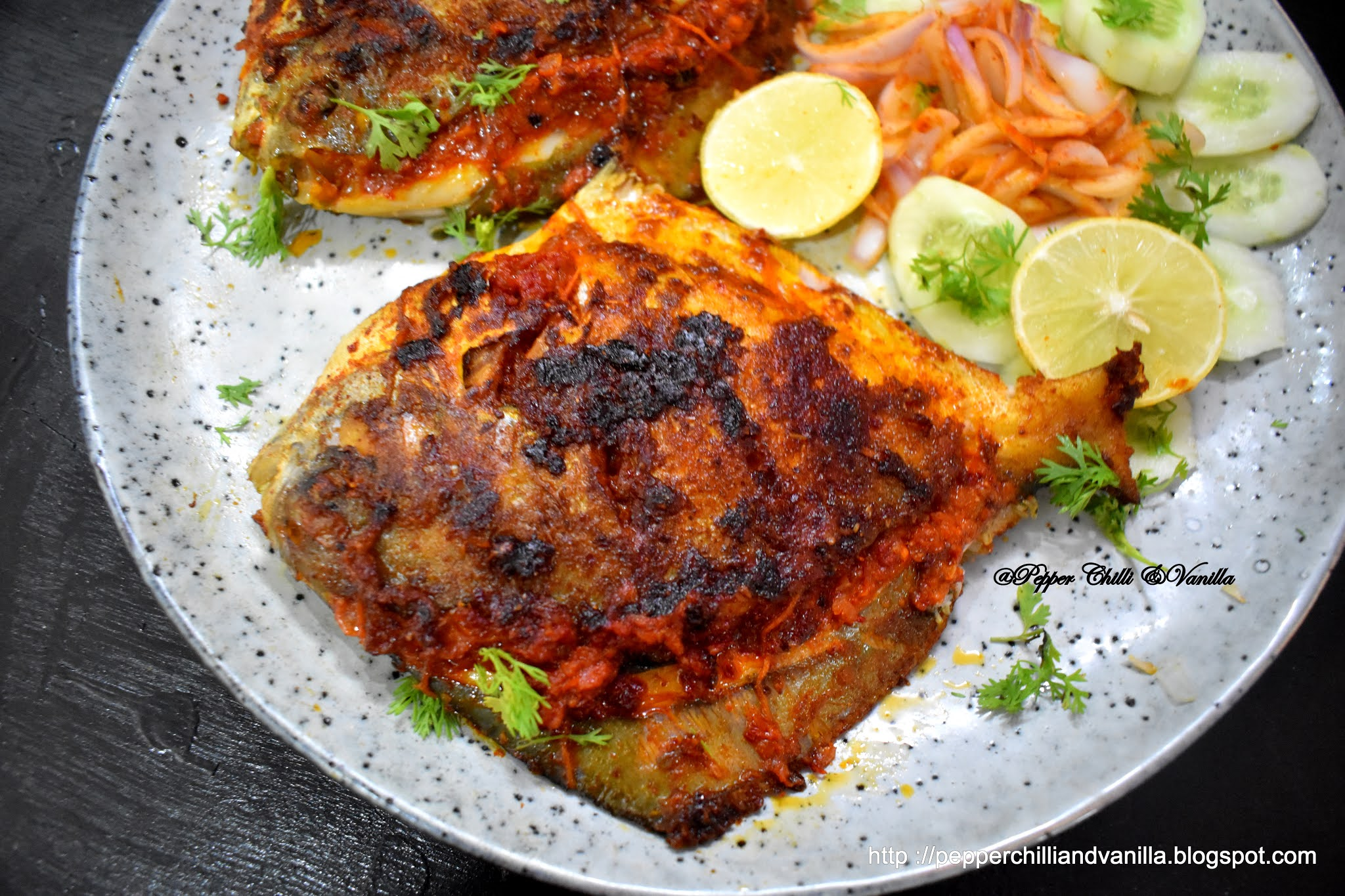 how to make recheado pomfret fry ,easy goan pomfret stuffed