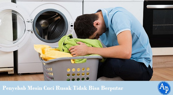 Memperbaiki mesin cuci yang tidak bisa berputar