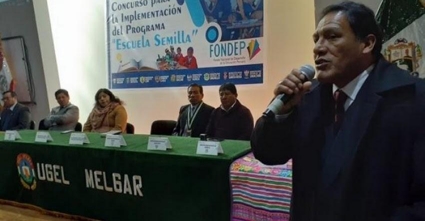 Municipios de Melgar y la UGEL unidos por la innovación educativa - Puno