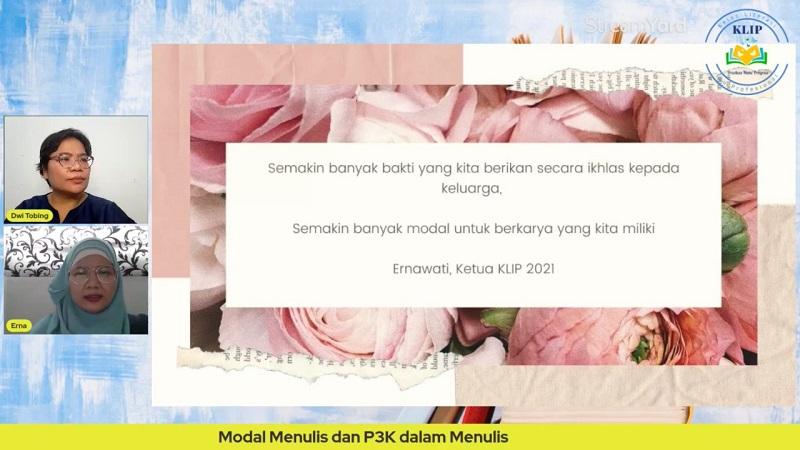 Quote mengenai Keluarga Kak Erna, Ketua KLIP 2021