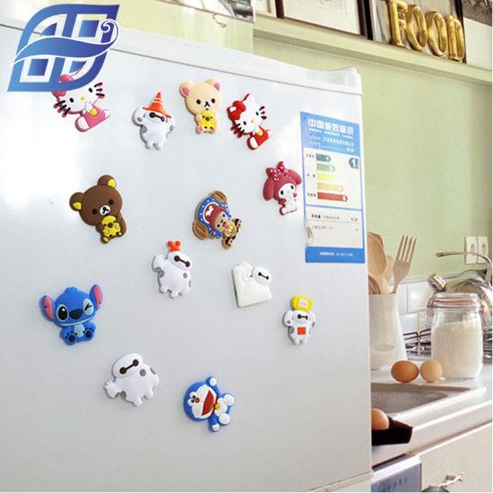 استخدمي ملصقات مغناطسية على ثلاجة مطبخك