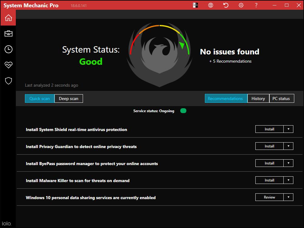 System Mechanic Professional 18 Full version