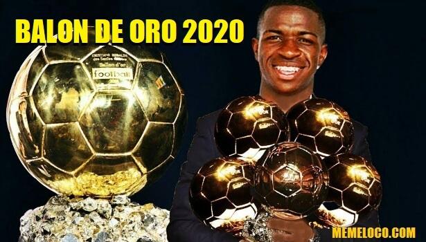 Vinicius Balón de Oro 2020