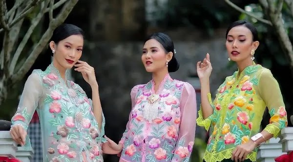 Kebaya Recommendations You Can Buy at the ISEF 2020 Digital Trade Show