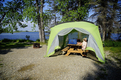 Park Lake Provincial Park Campground, Alberta
