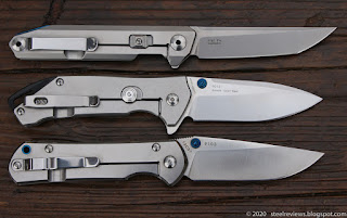 Sanrenmu 1161, 9015 and 9103 side by side comparison