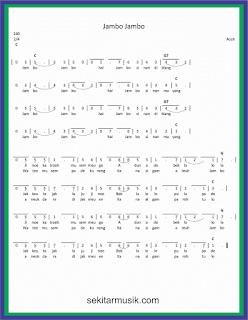 not angka jambo jambo lagu daerah aceh
