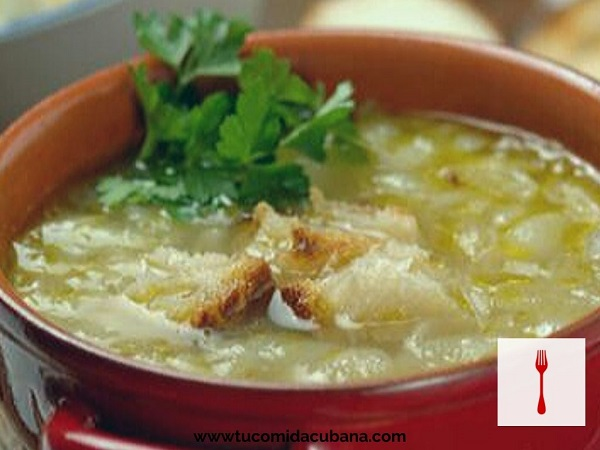 Sopa de Cebolla  🥣 RECETA CUBANA
